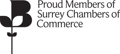 Proud members of Surrey Chambers of Commerce