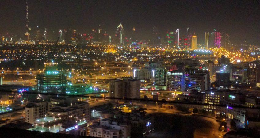 Dubai At Night - 1024x768